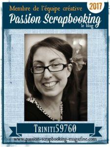 Equipe créative Passion SCrapbooking le blog