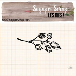 die Sagapo scrap feuillage 3