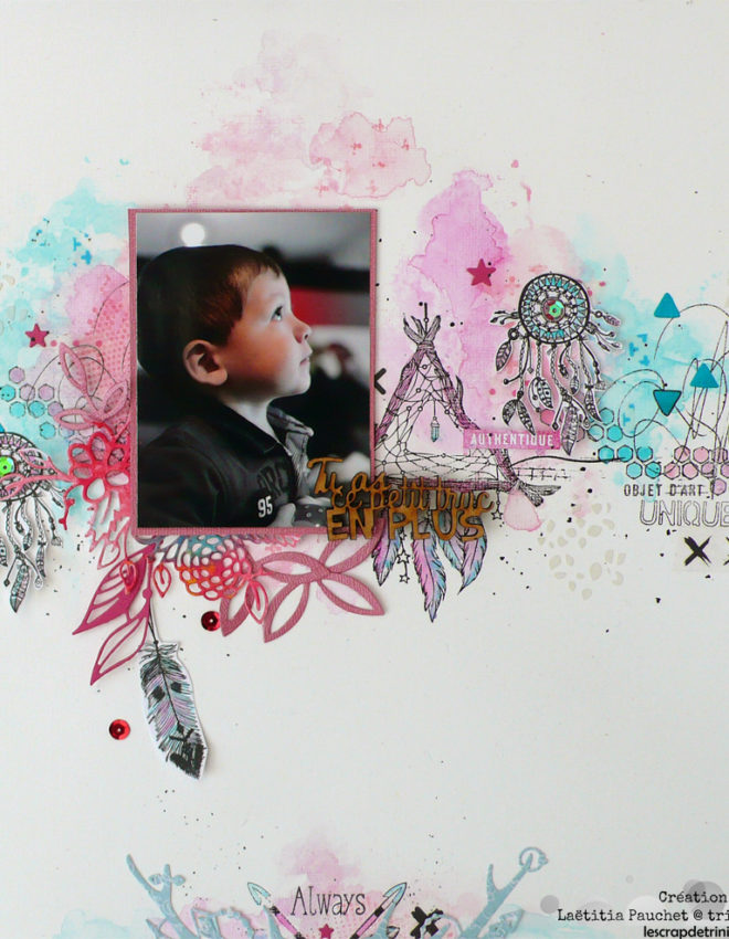 Tu as ce petit truc en plus- DT Passion Scrapbooking (le blog)