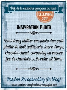 challenge passion scrapbooking défi photo plaisir noel