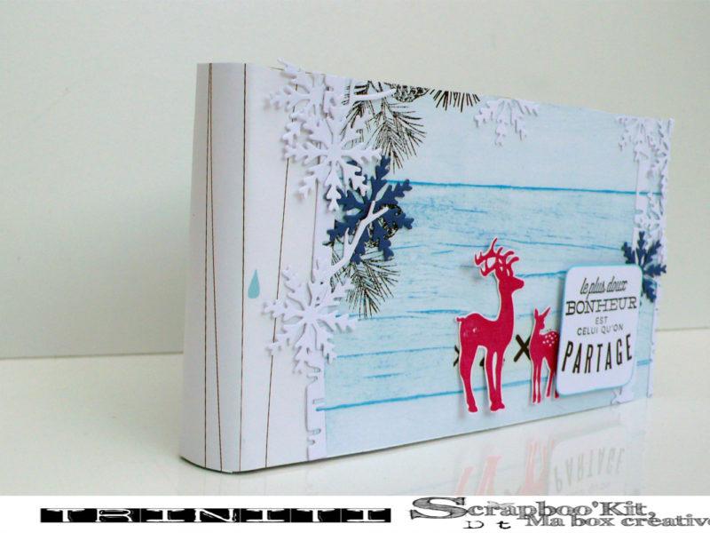 Mini Album «Partage» – DT Scrapboo'kit, ma box créative
