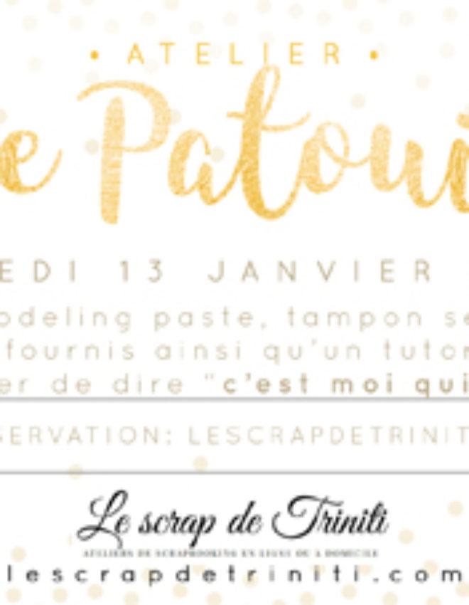 Atelier page «patouille» à Douai (59)