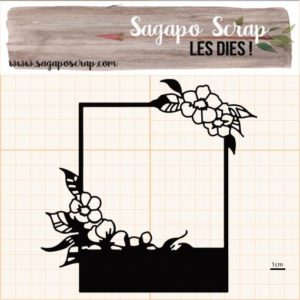 Polaroid découpe Sagapo scrap