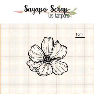 tampon fleur de mars Sagapo Scrap