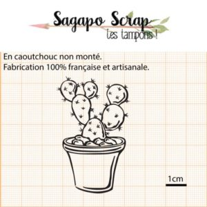 tampon cactus Sagapo Scrap