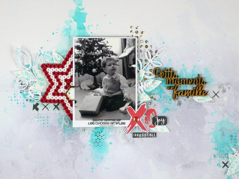 Petits moments en famille- DT Scrapboo'kit, ma box créative