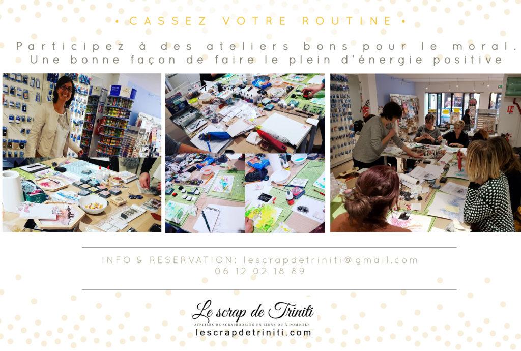 atelier creatif scrapbooking le scrap de triniti