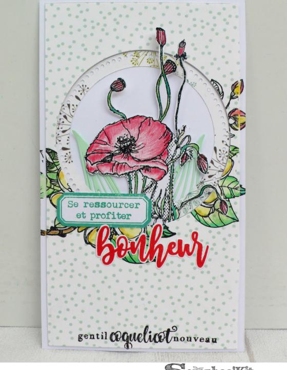 Carte Bonheur – DT Scrapboo'kit, ma box créative