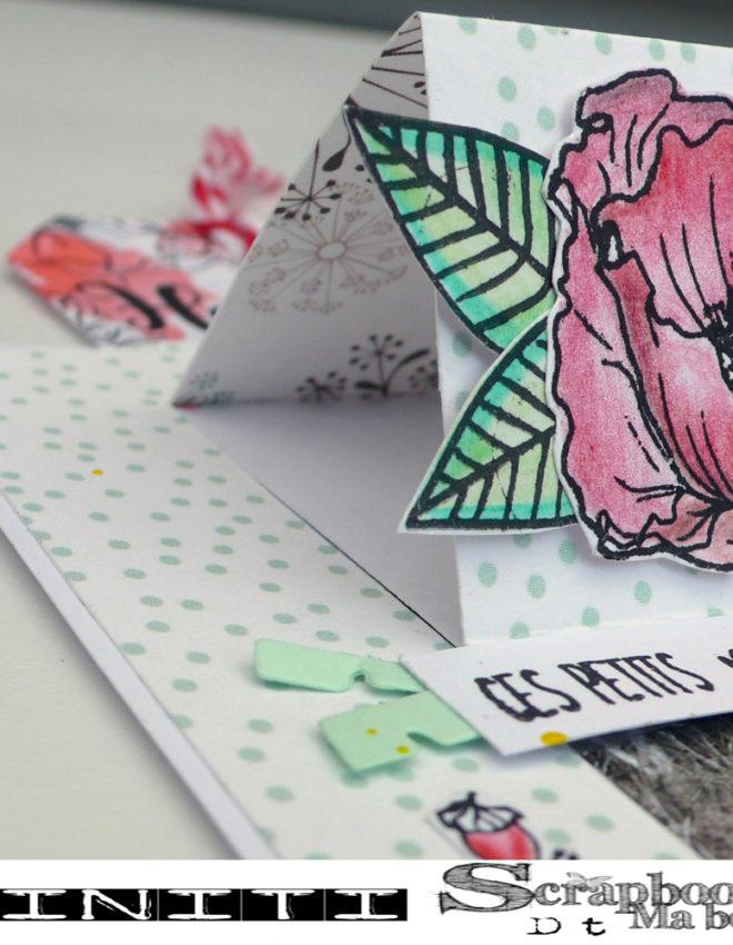 Carte Ces petits moments – DT Scrapboo'kit, ma box créative