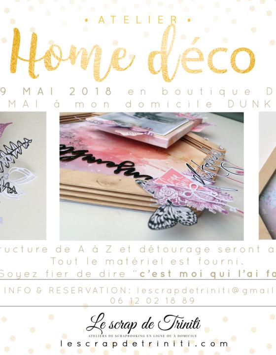 Atelier «Home Deco ensemble» à Douai et Dunkerque (59)