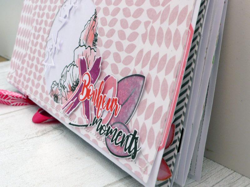 Mini album bonheur moments- DT Scrapboo'kit, ma box créative