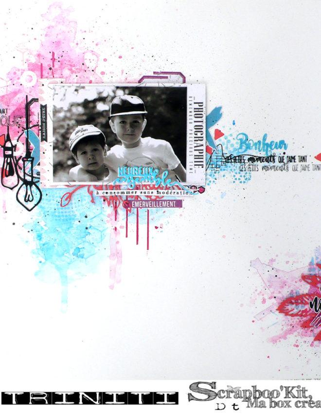 Heureux ensemble- DT Scrapboo'kit, ma box créative