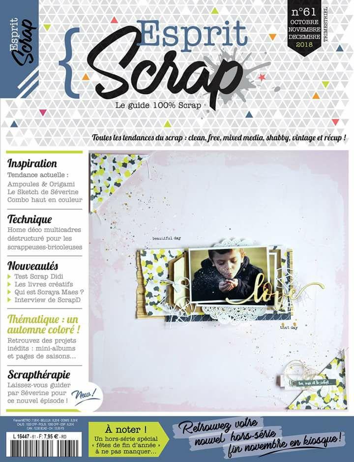 tuto pour magazine esprit scrap n°61