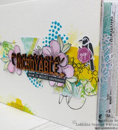 Mini-album «Vacances» proposé en atelier