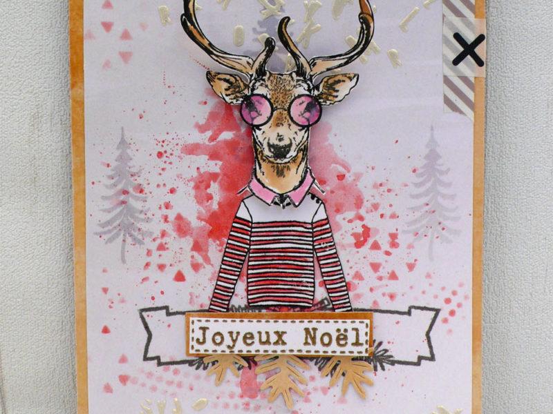 Carte Joyeux Noël – DT Scrapboo'kit, ma box créative