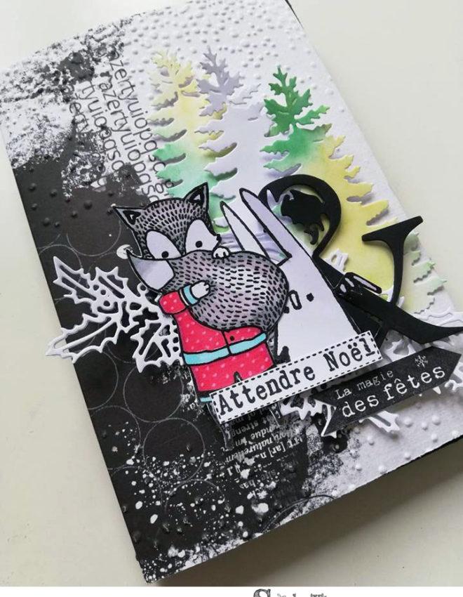 Mini Album «Attendre Noël» TUTO VIDEO