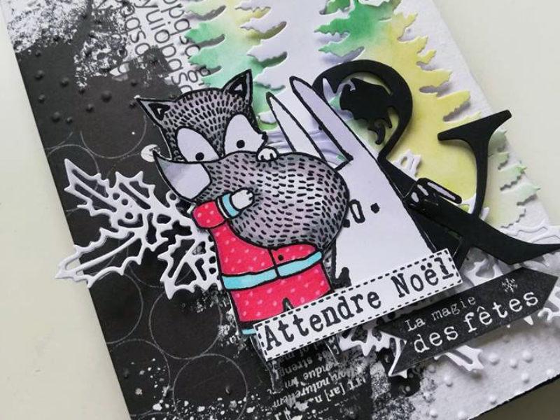 Mini Album «Attendre Noël» pour Scrapboo'kit, ma box créative