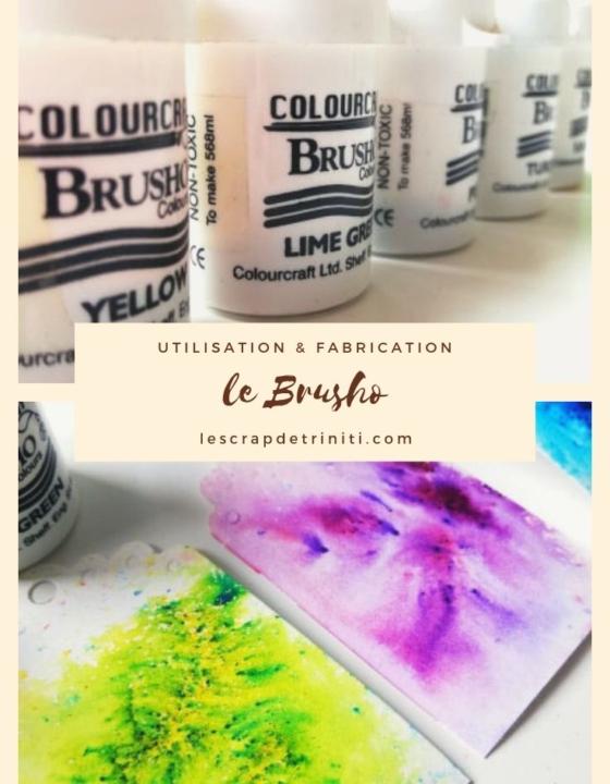 le Brusho : utilisation et fabrication