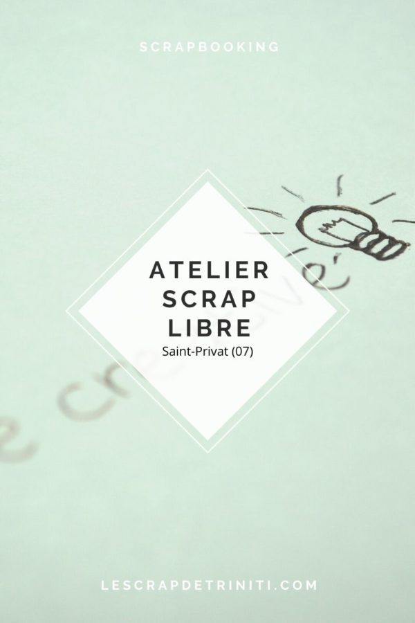 coaching scrapbooking atelier scrap libre